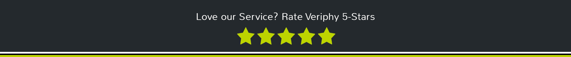 Rate Veriphy 5-Stars