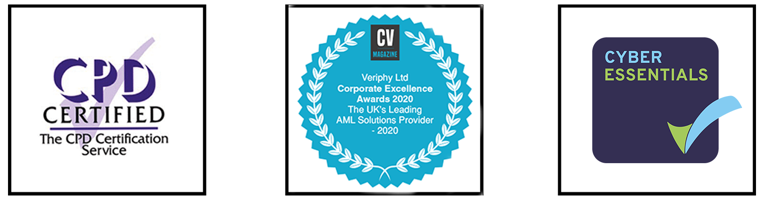 awards banner veriphy ltd